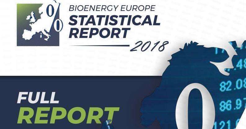 Статистичний звіт 2018 від Bioenergy Europe
