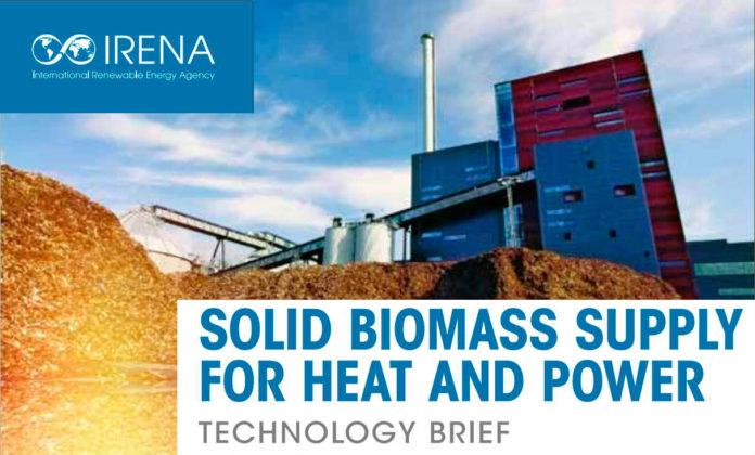 Постачання біомаси для виробництва теплової та електричної енергії. Звіт IRENA